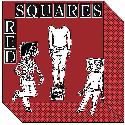 Alliance Red Squares - Modern Roll