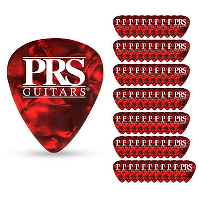 PRS Red Tortoise Celluloid Guitar Picks