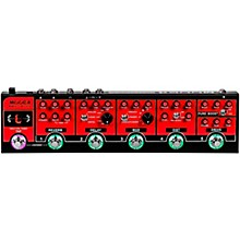 Open BoxMooer Red Truck Multi-Effects Pedal