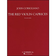 G. Schirmer Red Violin Caprices for Solo Violin From The Motion Picture The Red Violin By Corigliano