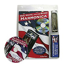 Music Sales Red, White, and the Blues Harmonica Music Sales America Series Softcover with CD Written by David Harp