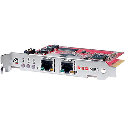 Focusrite RedNet PCIeR Dedicated Dante Audio Interface Card With Network Redundancy For Windows Or Mac