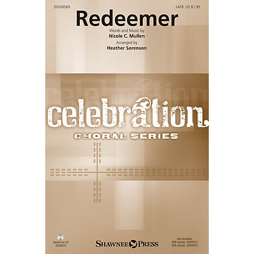 Shawnee Press Redeemer Studiotrax CD by Nicole C. Mullen Arranged by Heather Sorenson