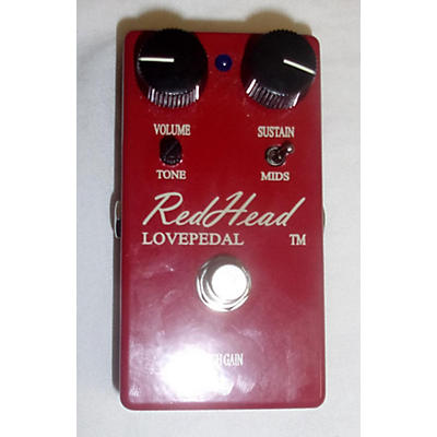 Lovepedal Redhead Effect Pedal