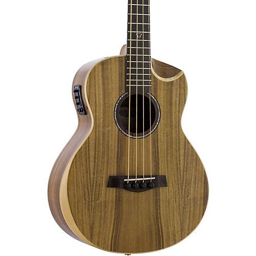 Traveler Guitar Redlands Concert Acoustic-Electric Bass Guitar Koa