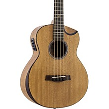 Redlands Concert Acoustic-Electric Bass Guitar Mahogany
