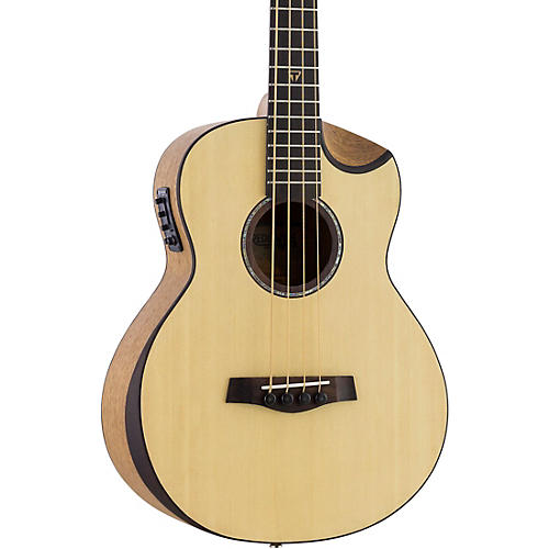 Traveler Guitar Redlands Concert Acoustic-Electric Bass Guitar Spruce