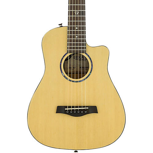 Traveler Guitar Redlands Mini Acoustic Guitar Spruce