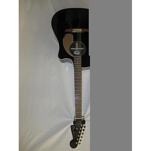 Fender Redondo Player Acoustic Electric Guitar Jetty Black