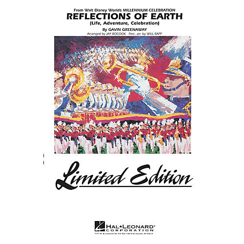 Hal Leonard Reflections of Earth Marching Band Level 5 Arranged by Jay Bocook