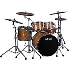 Reflex Elite 5-Piece Drum Shell Pack Gloss Natural