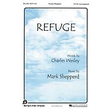 Fred Bock Music Refuge SATB composed by Mark Shepperd