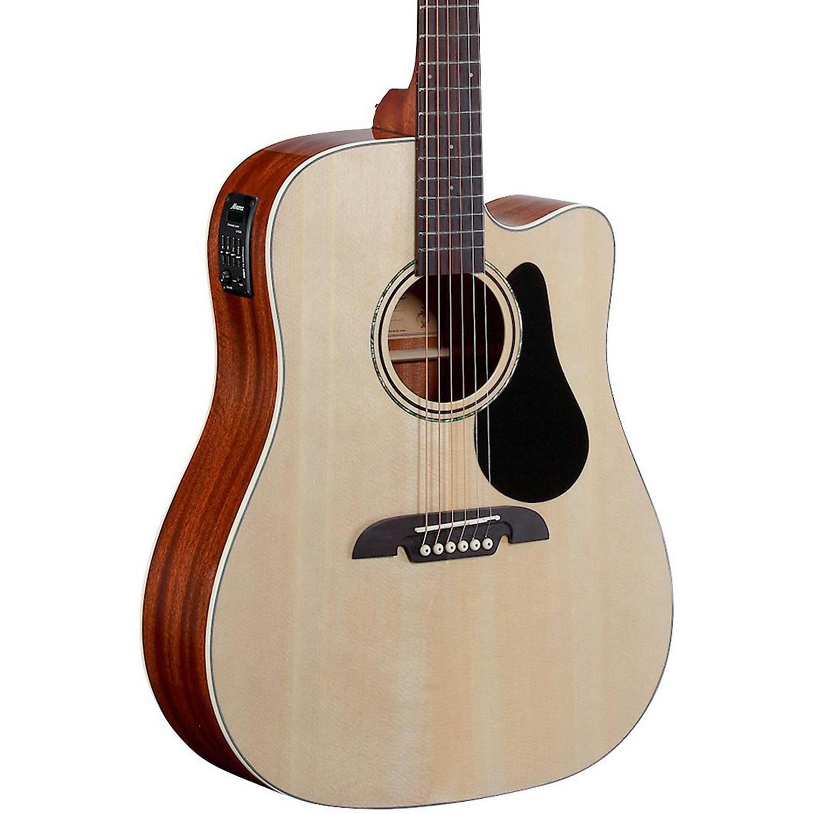 Alvarez Regent Series Dreadnought Cutaway Acoustic-Electric Guitar