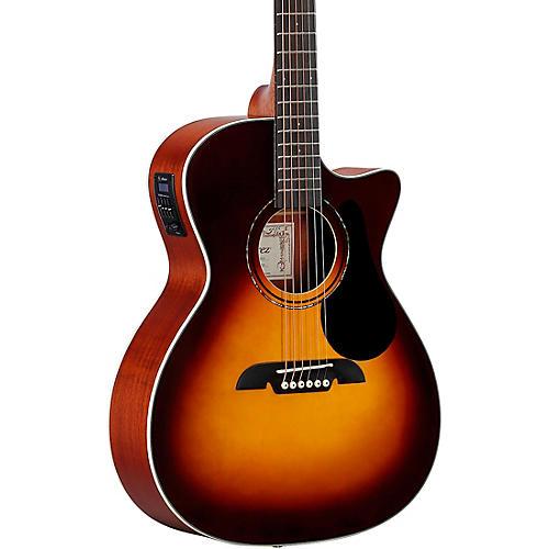 Alvarez Regent Series Grand Auditorium Acoustic-Electric Guitar Gloss Sunburst