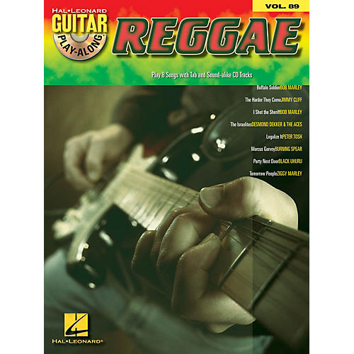 Hal Leonard Reggae (Guitar Play-Along Volume 89) Guitar Play-Along Series Softcover with CD