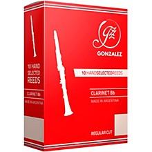 Regular Cut Bb Clarinet Reeds Strength 4