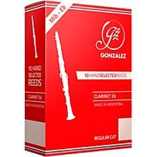 Regular Cut Eb Clarinet Reeds Box of 10 Strength 3