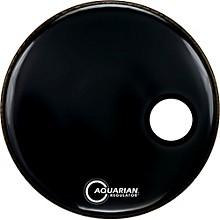 Aquarian Regulator Black Resonant Kick Drumhead