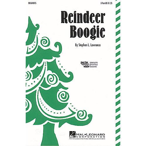 Hal Leonard Reindeer Boogie 2-Part composed by Stephen L. Lawrence