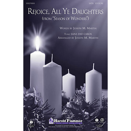 Shawnee Press Rejoice, All Ye Daughters (from Season of Wonders) Studiotrax CD Arranged by Joseph M. Martin