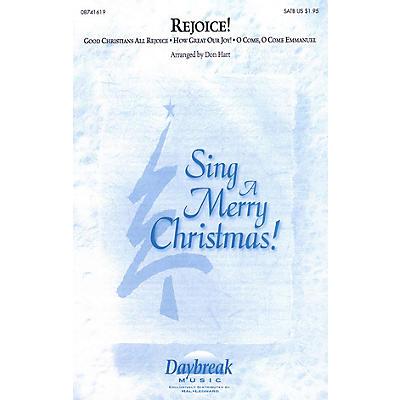 Daybreak Music Rejoice! (Medley) SATB arranged by Don Hart