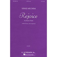 G. Schirmer Rejoice (SSAATTBB a cappella) SATB DV A Cappella composed by Kirke Mechem
