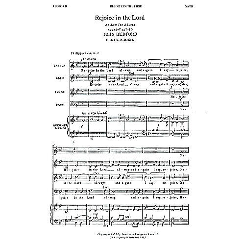 Novello Rejoice in the Lord Alway SATB