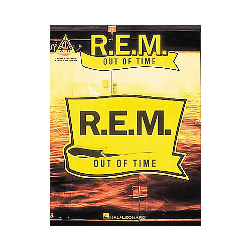 Hal Leonard Rem Out Of Time with Notes And Tablature
