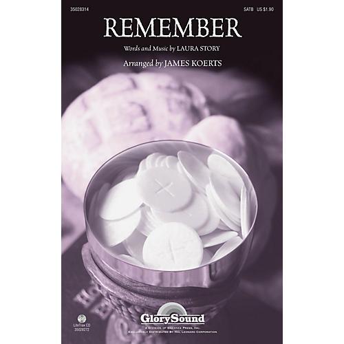 Shawnee Press Remember SATB arranged by James Koerts