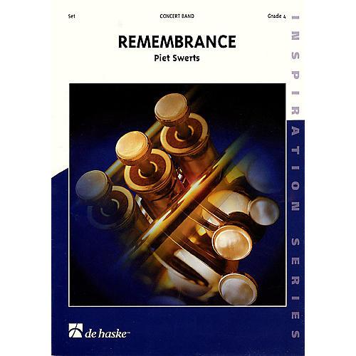 Hal Leonard Remembrance Sc Only Grade 4 Concert Band