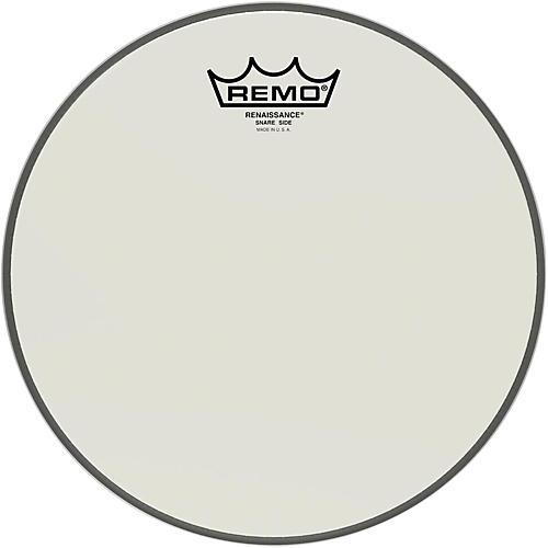 Remo Renaissance Ambassador Snare Side