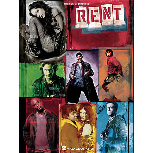 Hal Leonard Rent - Movie Vocal Selections arranged for piano, vocal, and guitar (P/V/G)
