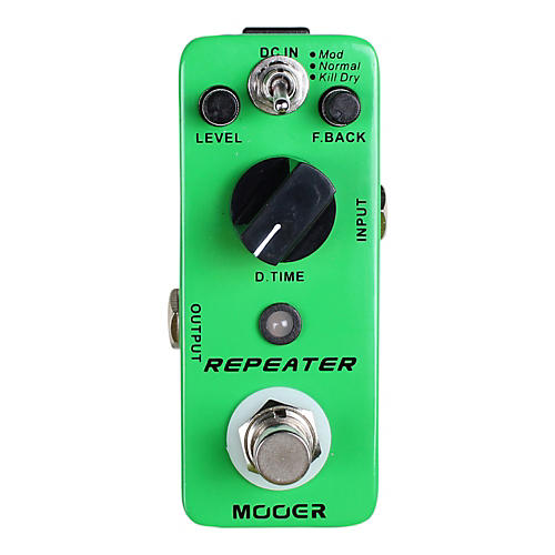 Mooer Repeater Digital Delay Guitar Effects Pedal