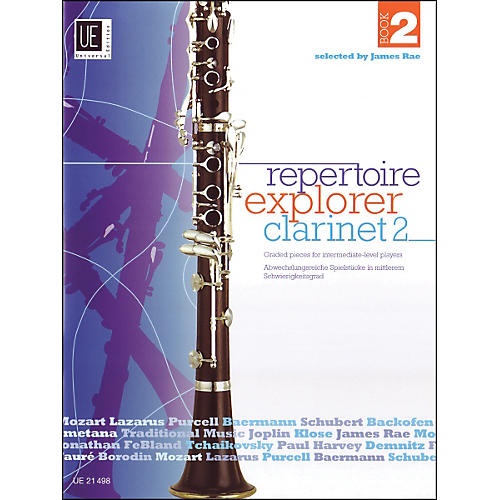 Carl Fischer Repertoir Explorer - Clarinet Vol.2 Book