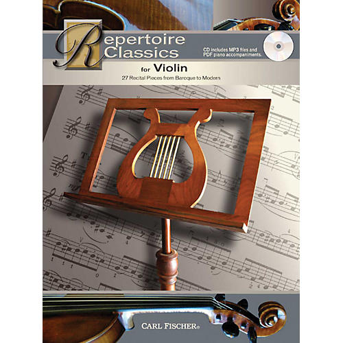 Carl Fischer Repertoire Classics for Violin (Book + CD)