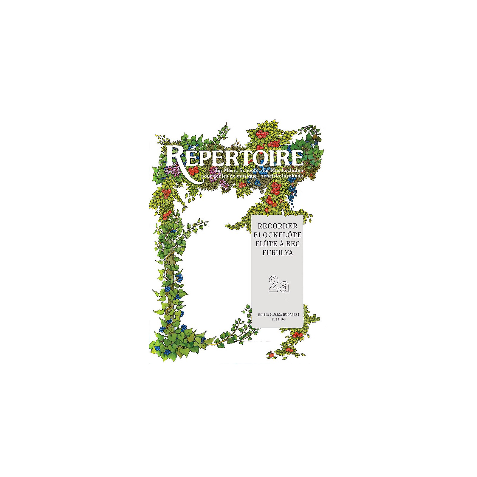 Editio Musica Budapest Repertoire for the Recorder - Volume 2A EMB Series by Various