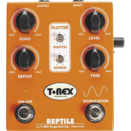 T-Rex Engineering Reptile Delay Guitar Effects Pedal
