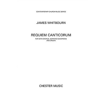 Chester Music Requiem Canticorum (Vocal Score) Score Composed by James Whitbourn