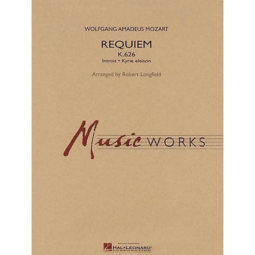 Hal Leonard Requiem (K. 626) Concert Band Level 5 Arranged by Robert Longfield