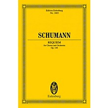 Eulenburg Requiem, Op. 148 (Chorus and Orchestra Study Score) Composed by Robert Schumann