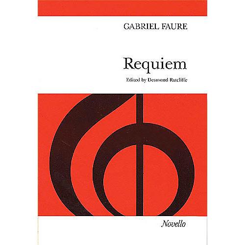 Novello Requiem (Vocal Score) SATB Composed by Gabriel Faure
