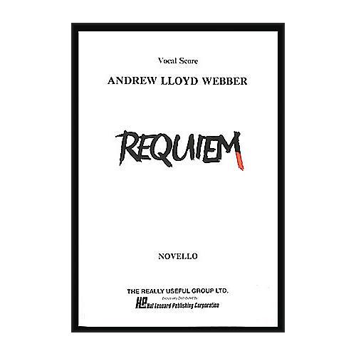 Hal Leonard Requiem Vocal Score