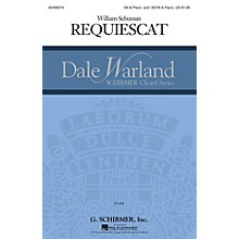 G. Schirmer Requiescat (Dale Warland Choral Series) SSAA composed by William Schuman