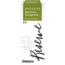 Reserve Baritone Saxophone Reeds, 5-Pack 2.5