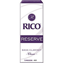 Rico Reserve Classic Bass Clarinet Reeds