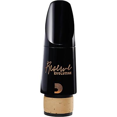 D'Addario Woodwinds Reserve Evolution Mouthpieces - Bb Clarinet - E 1.08mm, Medium-Long Facing, European Pitch 442Hz