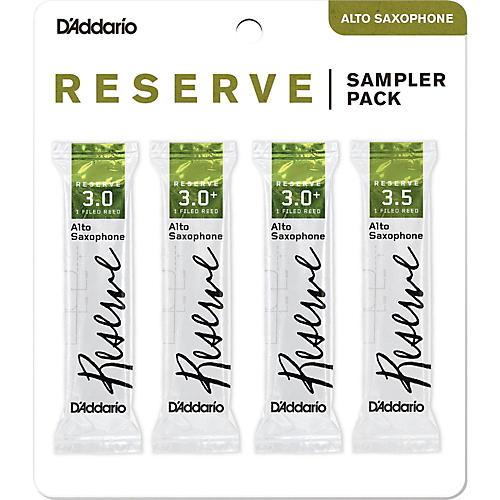D'Addario Woodwinds Reserve Reed Sampler Packs, Alto Saxophone 3
