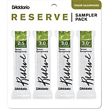 Reserve Reed Sampler Packs, Tenor Saxophone 2.5