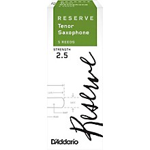 Reserve Tenor Saxophone Reeds 5-Pack Strength 2.5
