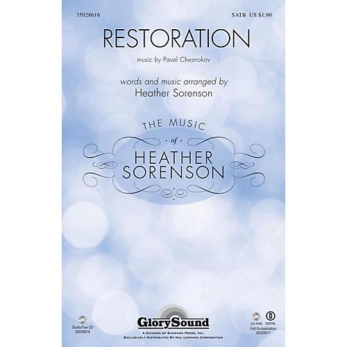 Shawnee Press Restoration SATB composed by Pavel Chesnokov